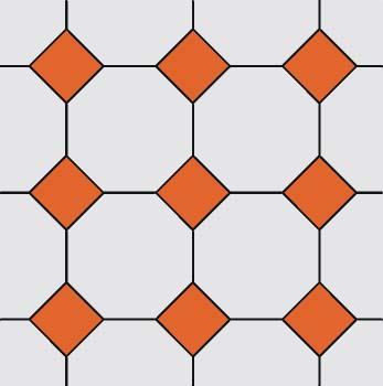 Mosaico 4, 8, 8
