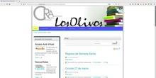 2.- Canal para familias del CRA Los Olivos: ¿Qué puedo encontrar en las páginas del CRA Los Olivos?