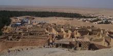 Restos del antiguo poblado, Chébika, Túnez