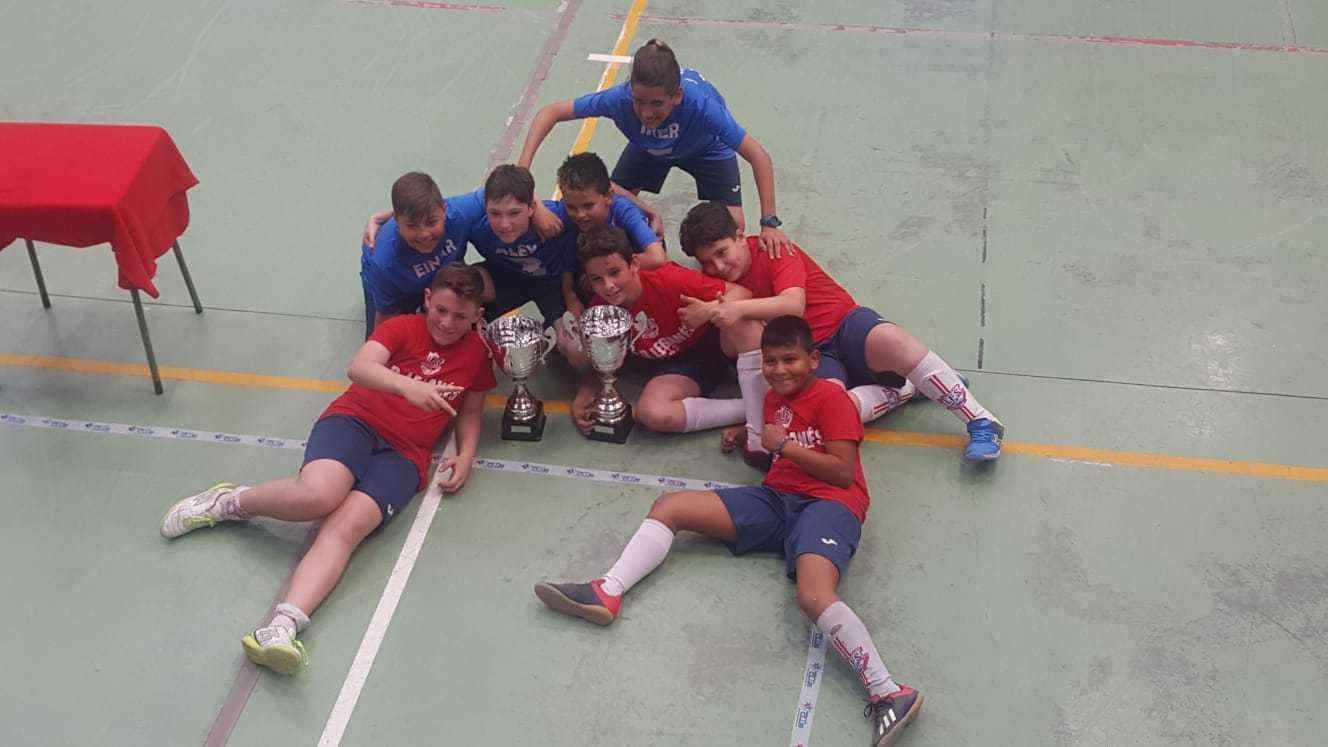 Nuestros deportistas disfrutan de las competiciones (AMPA)