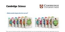INSTRUCCIONES PARA ACCEDER CAMBRIDGE SCIENCE