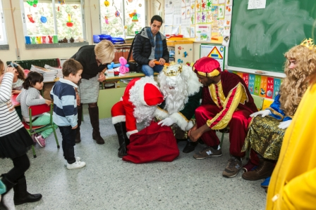 Los RRMM y Papá Noel en INF 5A 49