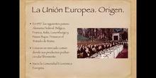 6º sociales del tratado de Roma a la Unión Europea