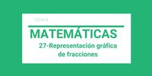 27-Representación gráfico de fracciones
