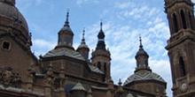 Torres y cúpulas, Basílica del Pilar