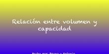 RELACIÓN ENTRE CAPACIDAD Y VOLUMEN