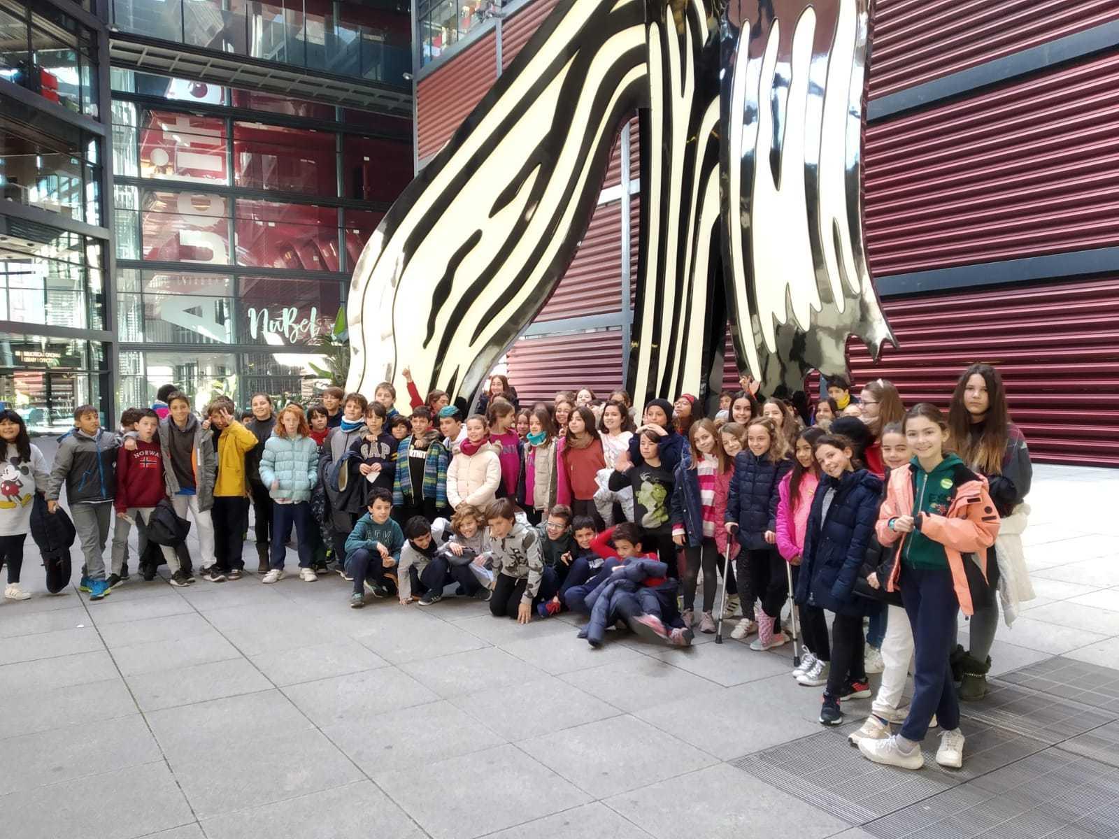 2019_02_07_Quinto visita Museo Reina Sofia_CEIP FDLR_Las Rozas 3