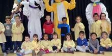 Nos visitan las mascotas de infantil Colegio Amadeo Vives