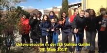 Ostereiersuche 2015 in der IES Galileo Galileo