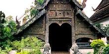 Templo de madera, Chiang Mai, Tailandia