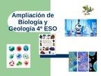 PRESENTACIÓN AMPLIACIÓN DE BIOLOGÍA Y GEOLOGÍA