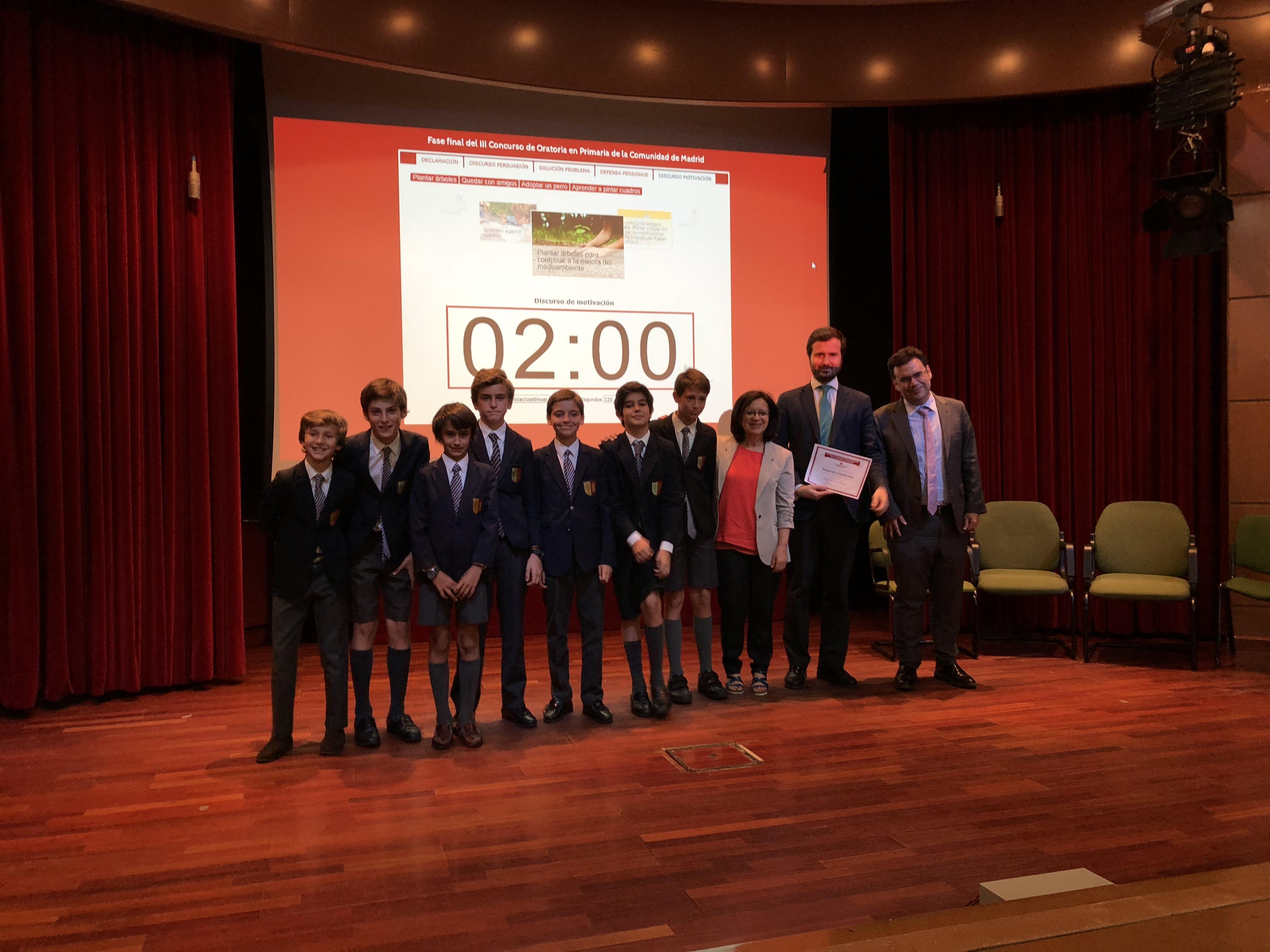 Fase final del III Concurso de Oratoria en Primaria de la Comunidad de Madrid 28