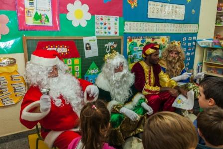 Los RRMM y Papá Noel en INF 4A 15