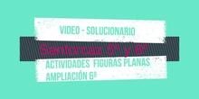 Solucionario:Ampliación sexto figuras planas