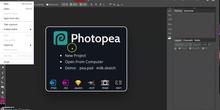 Abrir y cerrar archivo en photopea.com