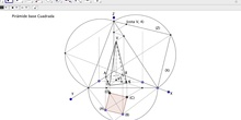 Sección pirámide sistema axonométrico