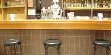 Vista general del bar