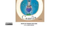 La cebra Camila con pictogramas