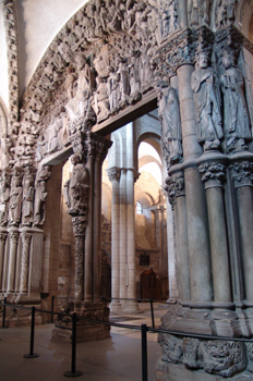 Pórtico de la Gloria, Catedral de Santiago de Compostela, La Cor