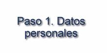 Petición de destinos 2019. PASO 1