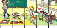 INFANTIL 5 B - LAS VOCALES- ACTIVIDADES
