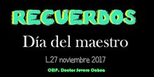 """VÍDEO DÍA DEL MAESTRO-. """"RECUERDOS"""".- CEIP Doctor Severo Ochoa-Madrid"""