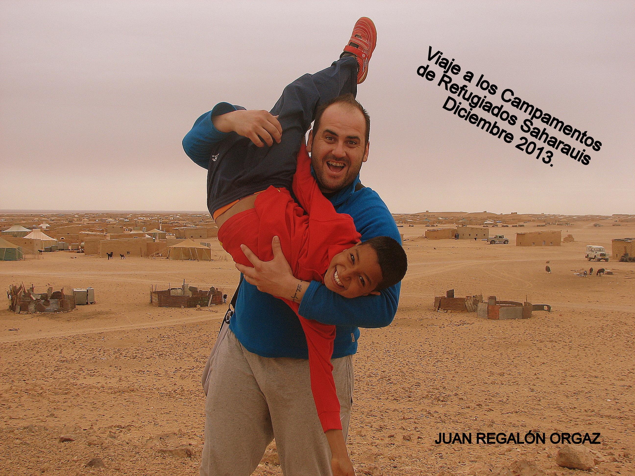 VISITA A LOS CAMPAMENTOS DE REFUGIADOS SAHARAUIS. DICIEMBRE 2013.