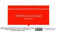 PLANTILLAS VISUALES