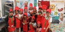 Visita del chef Sergio Fernández - Nutrifriends en el Comedor 11
