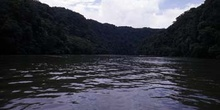 Cauce del río Dulce, Livingston, Guatemala