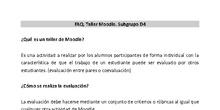 FAQ Talleres Moodle