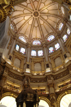 Cúpula de la Catedral de Granada, Andalucía