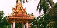 Templete en Luang Prabang, Laos
