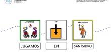 """Elige el pictograma correcto en """"San Isidro"""""""