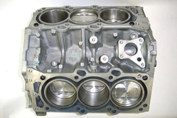 Bloque de 6 cilindros en V