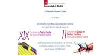 Acto de Clausura del XIX Certamen de Teatro Escolar y II Certamen de Danza de la Comunidad de Madrid.