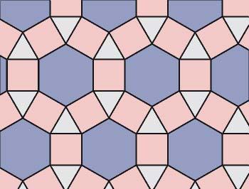 Mosaico 3, 4, 6, 4
