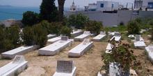 Cementerio, Sidi Bou Said, Túnez