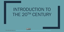 Introduction to the 20th century