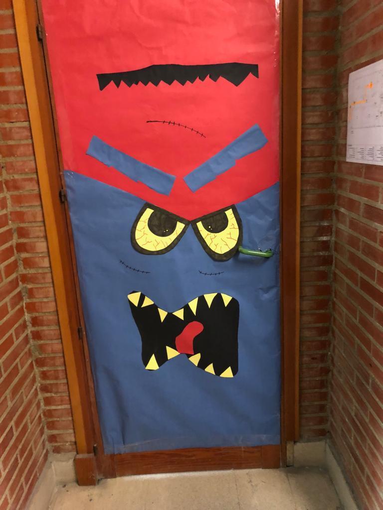 2018_10_Halloween_puertas_CEIP FDLR_Las Rozas