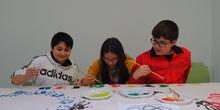 Los alumnos de 6º de Primaria preparan el carnaval 7