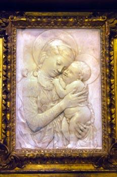 Alabastro de la Virgen y el Niño, Museo Catedralicio - Badajoz