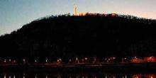 Colina Gellért y Monumento a la Liberación, Budapest, Hungría