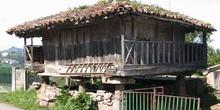 Hórreo típico asturiano