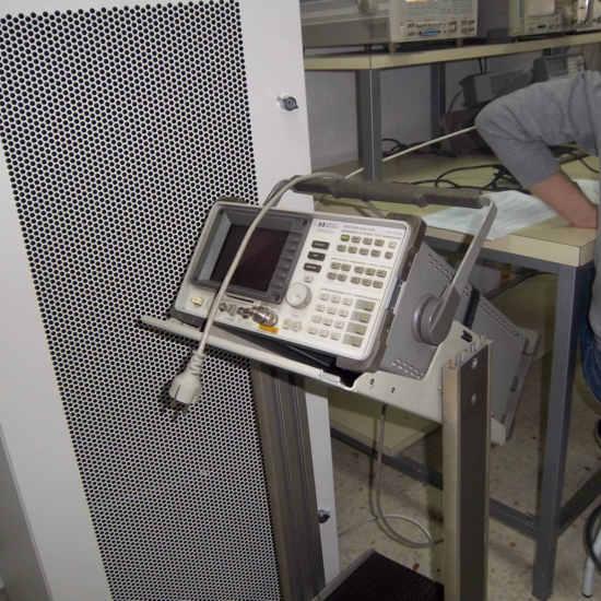 Analizador de espectros para radioenlaces y estaciones terrenas