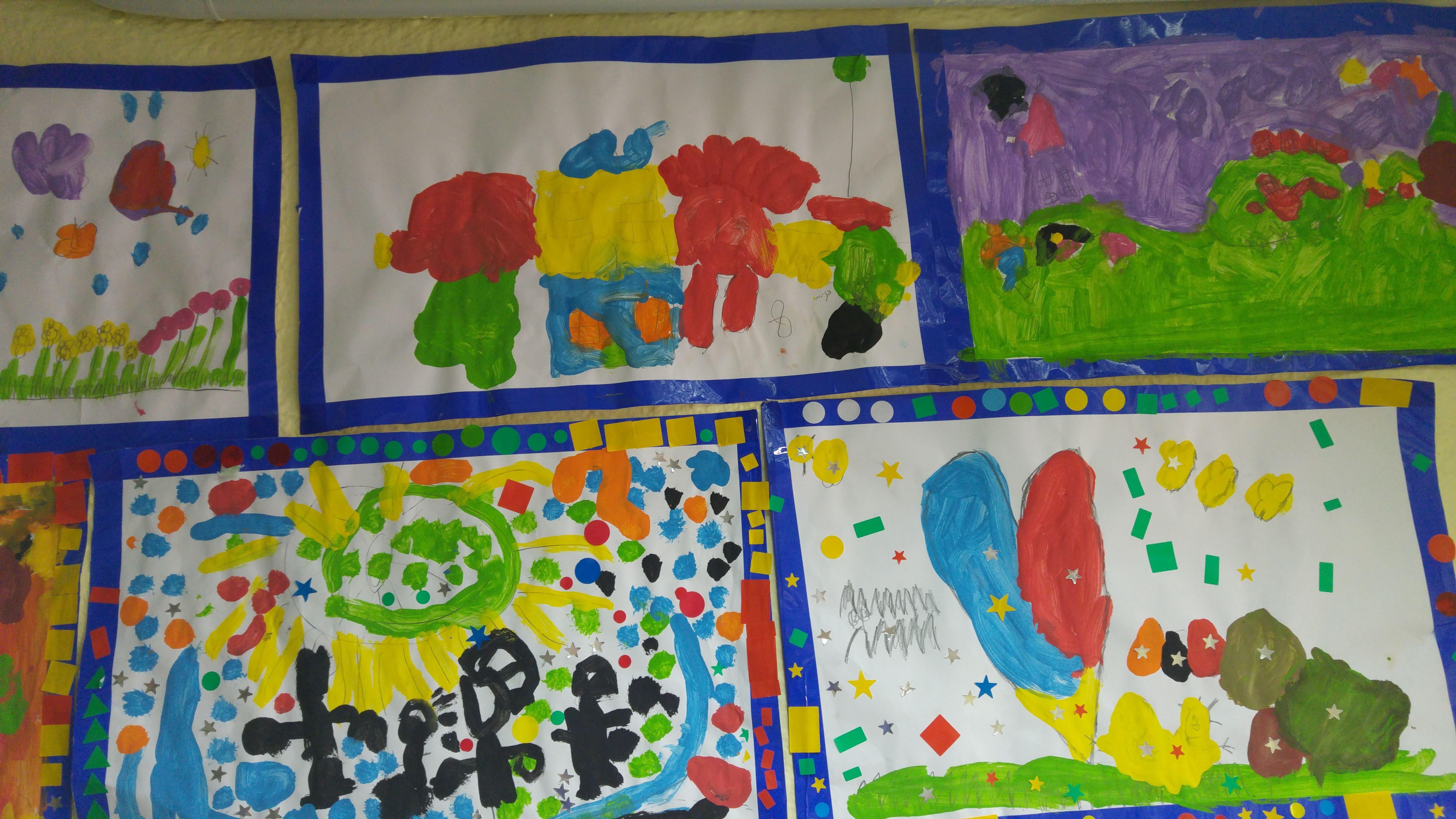 TALLER DE PINTURA CREATIVA ED. INFANTIL 8