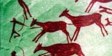 Pintura rupestre, Cueva de Los Caballos, Castellón