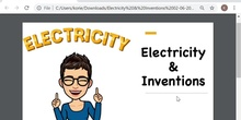 Electricity & Inventions (IV)