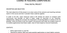 Final Digital Project: Programa de Formación y Desarrollo de Competencias Docentes (IN-43)