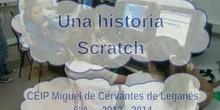 Una historia Scratch en el CEIP Miguel de Cervantes de Leganés (2)